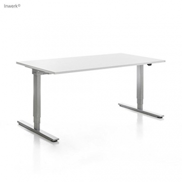 inwerk masterlift 2 elektrischer h henverstellbar schreibtisch im test. Black Bedroom Furniture Sets. Home Design Ideas