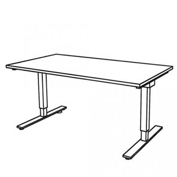 Bümö Tischgestell mit Platte