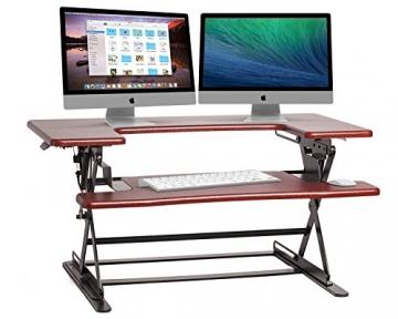ED-600 verstellbare Schreibtisch Sitz/Steh Erweiterung -