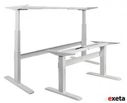 Exeta Tischgestell elektrisch höhenverstellbar mit 2 Motoren
