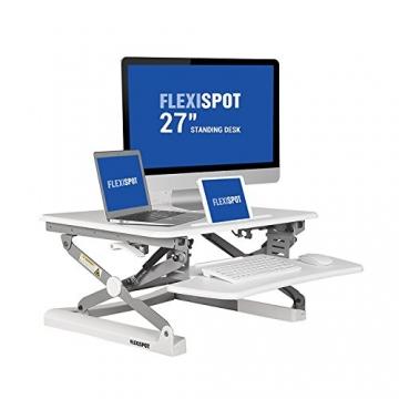 """FlexiSpot M1W 27"""" Höhenverstellbarer Steharbeitsplatz"""